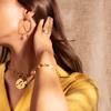 Gold Vermeil Fiji Bud Pendant Charm - Monica Vinader