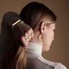 Rose Gold Vermeil Siren Muse Small Hoop Earrings - Monica Vinader