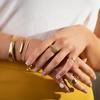 Sterling Silver Linear Chain Bracelet - Monica Vinader