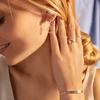 Gold Vermeil Riva Diamond Kite Earrings - Diamond - Monica Vinader