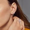 Gold Vermeil Riva Large Circle Stud Diamond Earrings - Diamond - Monica Vinader