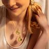 Rose Gold Vermeil Siren Large Pendant Charm - Monica Vinader