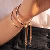 Gold Vermeil Fiji Diamond Toggle Petite Bracelet - Diamond - Monica Vinader