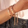 Rose Gold Vermeil Fiji Friendship Petite Chain Bracelet - Monica Vinader