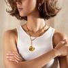 Gold Vermeil Nura Shell Pendant Charm - Monica Vinader