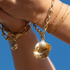 Rose Gold Vermeil Alta Capture Mini Link Charm Bracelet - Monica Vinader