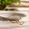 Rose Gold Vermeil Alta Capture Charm Bangle - Monica Vinader