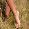 Gold Vermeil Siren Charm Anklet - Rock Crystal - Monica Vinader