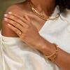 Gold Vermeil Fiji Bud Friendship Cuff - Gold - Monica Vinader
