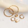 Gold Vermeil Siren Muse Large Hoop Earrings - Monica Vinader