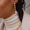 Sterling Silver Nura Baroque Pearl Pendant Charm - Pearl - Monica Vinader