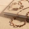 Rose Gold Vermeil Alta Capture Charm Necklace - Monica Vinader