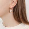Gold Vermeil Petra Wire Earrings - Moonstone - Monica Vinader