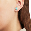Siren Stud Earrings - Amazonite - Monica Vinader