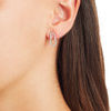 Rose Gold Vermeil Riva Pod Stud Earrings - Diamond - Monica Vinader