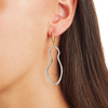 Gold Vermeil Riva Pod Cocktail Earrings - Diamond - Monica Vinader