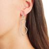 Riva Pod Cocktail Earrings - Diamond - Monica Vinader