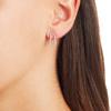 Riva Pod Stud Earrings - Diamond - Monica Vinader