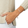 Rose Gold Vermeil Baja Skinny Bracelet - Diamond - Monica Vinader