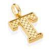 Gold Vermeil Alphabet Pendant T 2