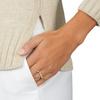 Rose Gold Vermeil Signature Ring - Diamond - Monica Vinader