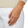 Rose Gold Vermeil Signature Wide Diamond Ring - Diamond - Monica Vinader