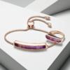 Rose Gold Vermeil Baja Ring - Purple Quartz Still Life