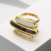 Gold Vermeil Baja Ring - Diamond Still Life
