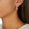 Fiji Large Hoop Diamond Earrings - Diamond - Monica Vinader