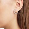 Riva Diamond Circle Wrap Earrings - Diamond - Monica Vinader