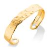 Gold Vermeil Siren Scatter Cuff - White Topaz
