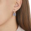 Siren Wire Earrings - Labradorite - Monica Vinader