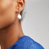 Sterling Silver Nura Teardrop Earrings - Monica Vinader