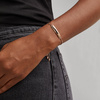 Rose Gold Vermeil Havana Mini Friendship Chain Bracelet - Monica Vinader