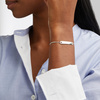 Sterling Silver Havana Mini Friendship Chain Bracelet - Monica Vinader