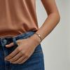 Sterling Silver Linear Solo Friendship Diamond Bracelet - Diamond - Monica Vinader