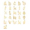 Gold Vermeil Alphabet E Pendant Charm - Monica Vinader