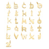 Gold Vermeil Alphabet N Pendant Charm - Monica Vinader