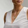 Gold Vermeil Atlantis Hamsa Pendant Charm - Amazonite - Monica Vinader