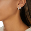 Sterling Silver Fiji Mini Hoop Single Earring - Monica Vinader