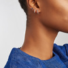 Rose Gold Vermeil Siren Mini Stud Single Earring - Kyanite - Monica Vinader