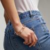 Rose Gold Vermeil Alta Capture Large Link Charm Bracelet - Monica Vinader