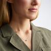 Nura Mini Heart Necklace - Diamond - Monica Vinader