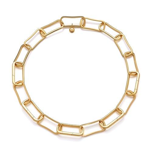 Gold Vermeil PRE-ORDER Alta Capture Large Link Necklace - Monica Vinader