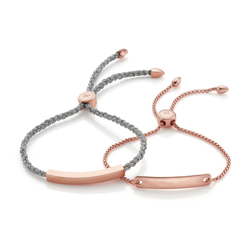 Linear and Havana Chain Friendship Bracelet Set - Monica Vinader