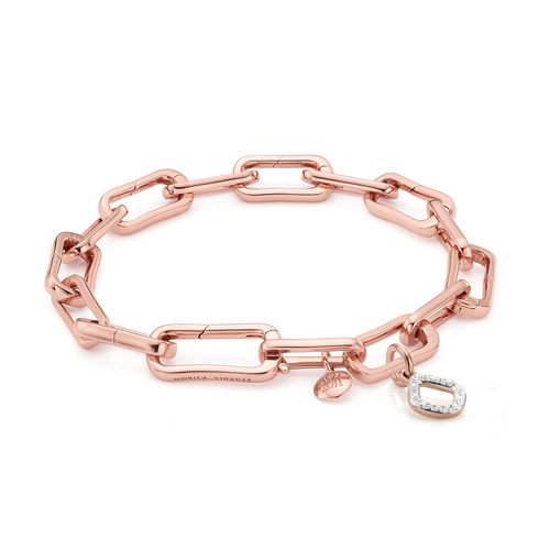 Alta Capture and Riva Mini Kite Diamond Bracelet Set - Monica Vinader