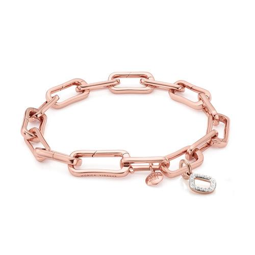 Alta Capture and Riva Mini Kite Diamond Bracelet Set - Monica Vinader