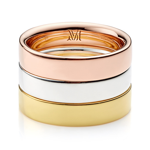 Fiji Band Stacking Ring Set - Monica Vinader