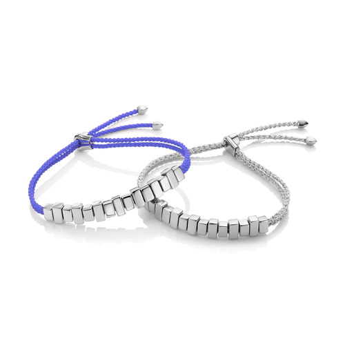 Linear Ingot Friendship Bracelet Set - Monica Vinader
