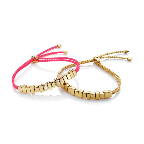 Linear Ingot Friendship Bracelet Set - Monica Vinader